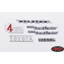 Assortiment logo métal  Cruiser RC4WD