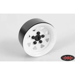 "Jantes métal 5 Lug Wagon 1.9"" Steel Stamped Beadlock  RC4WD"