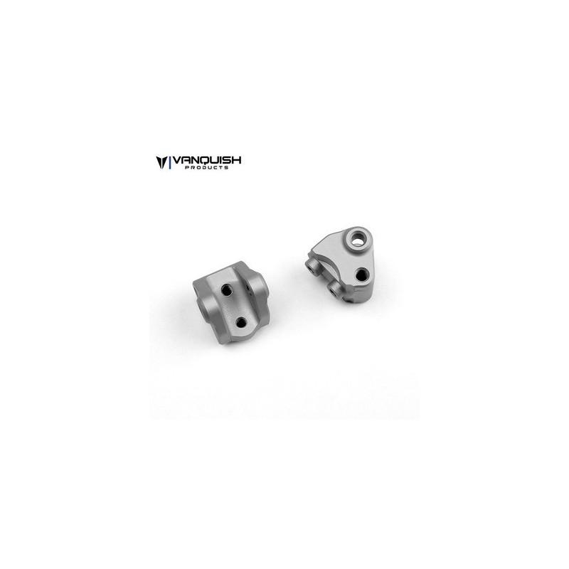 Support de lien inférieur et amortisseur  alu Silver SCX10-II Vanquish