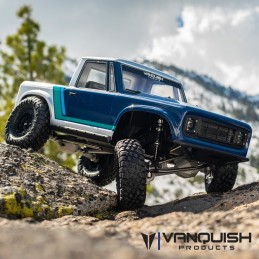 Kit VS4-10 Pro pick up avec ponts Silver anodisés Vanquish