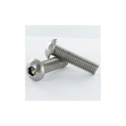 Vis aluminium  Silver tête bombée M3x10 Freerun