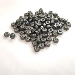 Ecrous freins aluminium M3 Freerun