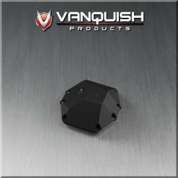 Capot différentiel de pont alu noir pour Axial Wraith