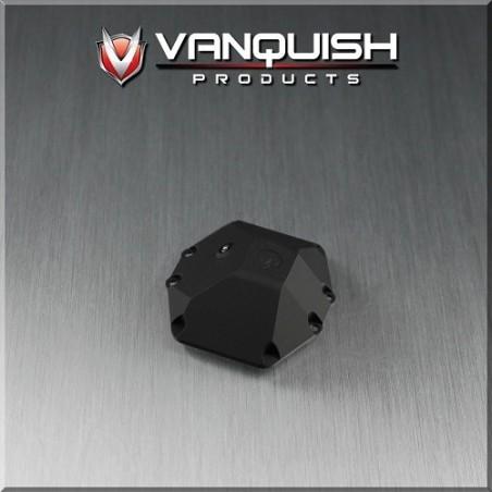 Capot différentiel de pont alu noir pour Axial Wraith yéti...Vanquish