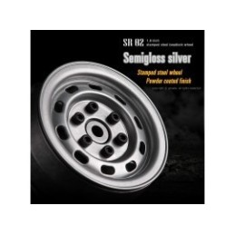 Jantes Gmade 1.9 SR02 métal beadlock  grise Semigloss silver (2)