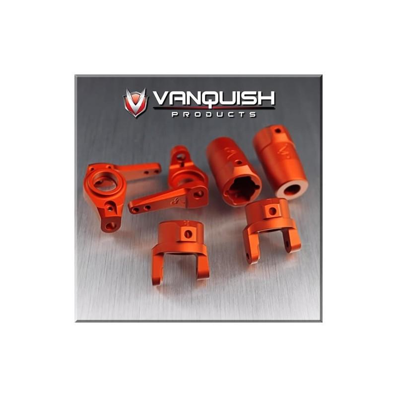 Kit option alu orange pour Axial SCX10-AX10 Vanquish