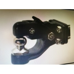 Crochet d'attelage réalistic avec boule métal Noir CN Racing
