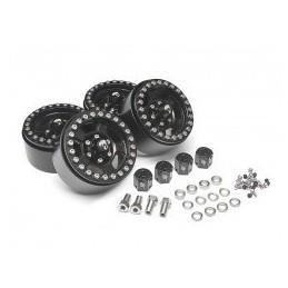 Jantes alu Krait™ 1.9 Golem Aluminum Noir Beadlock  BRW780903BK  BoomRacing (4)