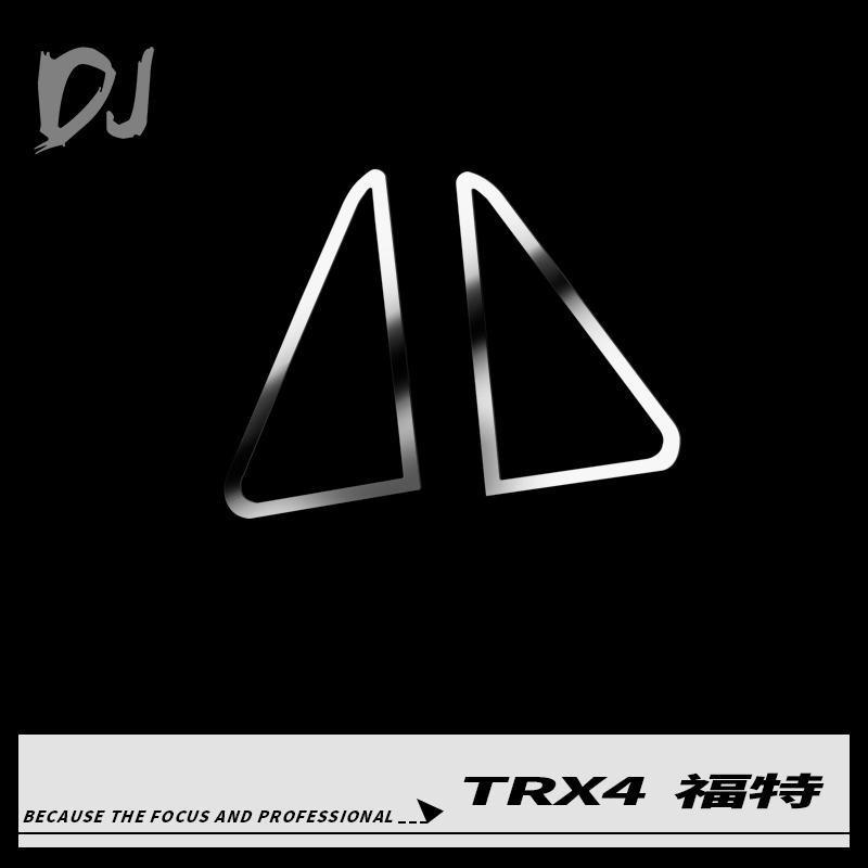 Enjoliveur de vitre cadre triangle pour TRX4 bronco DJI-1024 Team Dc