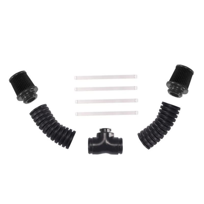 DJC-0681 -  Durites LS3 V8 6.2L SIMULATED V8 COLD AIR INTAKE SYTEM FILTER NOIR Team DC