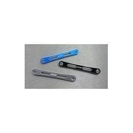 Renforts de support d'amortisseurs av. ou ar. alu Bleu  Enduro Samix END-6076BU