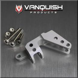 Support Panhard 3 liens alu silver pour SCX vanquish