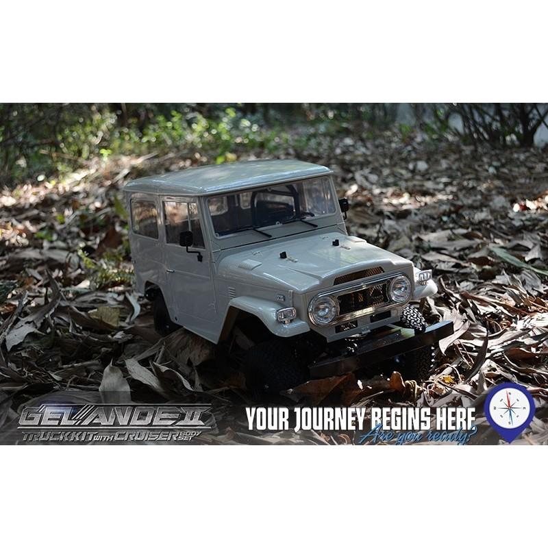 Gelande II Truck Kit avec carrosserie Cruiser