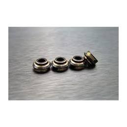 Coupelles d'amortisseurs alu noir pour Enduro Samic END-4047