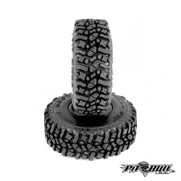 Pneus PitBull Rock Beast 1.55 Scale Tires Alien Kompound  (2 pcs.) PB9013AK