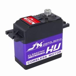 Servo   27kg Aluminium Shell Metal gear High Voltage Coreless Digital JX Servo CLS6027HV