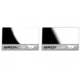 Vitres autocollants pour rétroviseurs TrX4 Ford Bronco Team DC DJX-1036