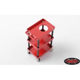 Servante d'atelier métal OIl service  réalistic Garage séries RC4WD Z-X0031