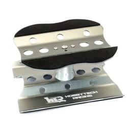 Stand Plateau tournant en aluminium Gris métal  Hobbytech HT-421800GM