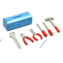 Caisse à outils scale accessoire rouge BoomRacing