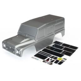 Carrosserie Land Rover peinte grise Traxxas TRX-4  8011X