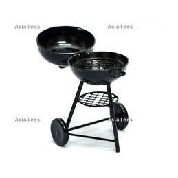 Barbecue grill round type BoomRacing
