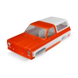 Carrosserie Chevrolet Blazer Orange peinte et décorée Traxxas 8130G