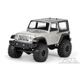 Carrosserie 1/10e Jeep Wrangler Rubicon lexan transparente Proline