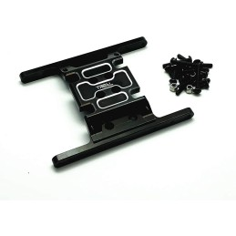 Skid plate alu Noir pour Element Enduro  TREAL