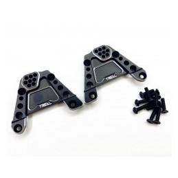 Support alu Noir  amortisseurs arrières pour SCX10 III  Treal