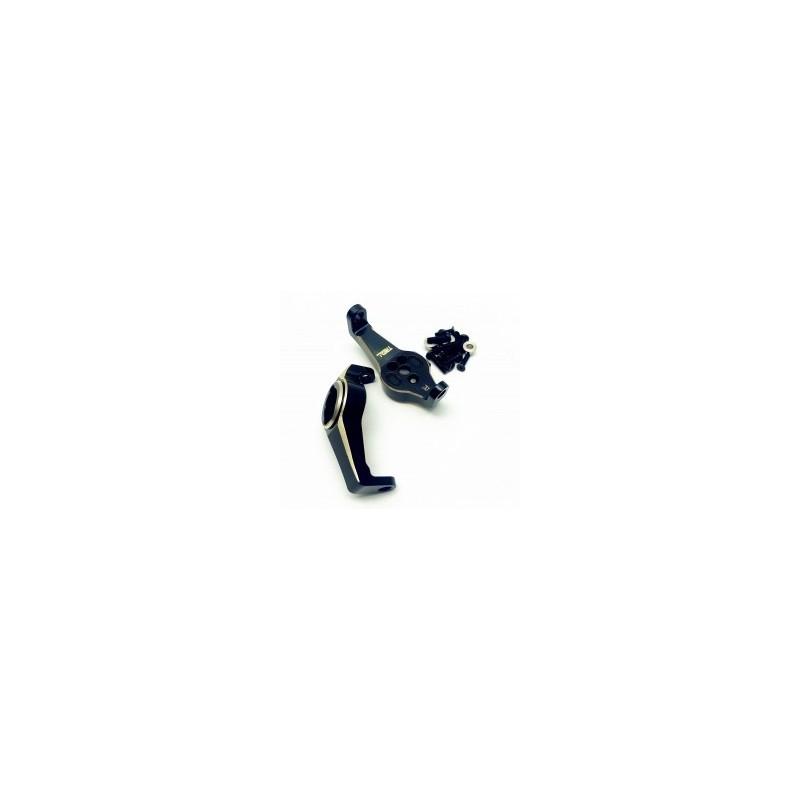 Fusee alu noir Brass Caster Blocks portal Chub pour TRX4 TRX6  Treal