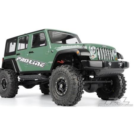 Carrosserie  Jeep Wrangler unlimited Rubicon transparente Proline