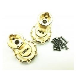 Carter intérieur de pont arrière  portique  Brass laiton gold pour TRX4  TRX6  TREAL