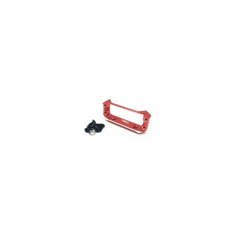 Support Servo alu rouge pour axial Capra TREAL