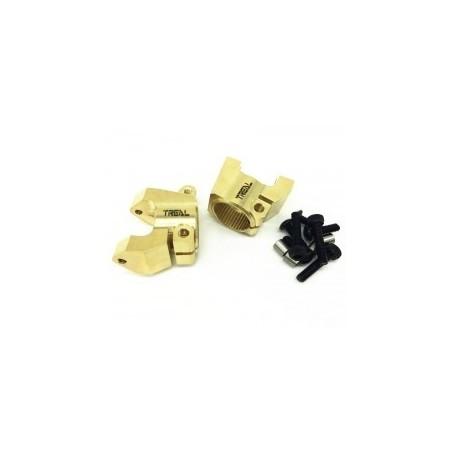 Fusées  avants C-hub Carrier laiton Gold pour Element TReal