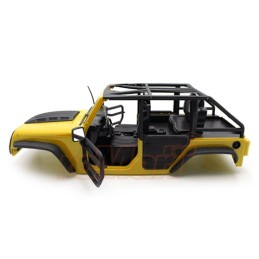 Carrosserie  Xtra Speed Jeep  peinte jaune front Tube Doors Kit 313mm (Parts A)     XS-59887AY