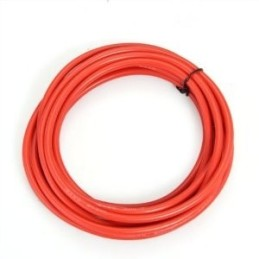 1ml Fil silicone rouge 2.5 mm2-14AWG  H-Speed