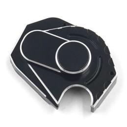 Carter de boite transmission  alu noir pour SCX24 Xtra Speed XS-AX0022