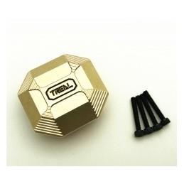 Couvercle de pont diff. laiton gold pour Enduro TREAL X002C9HDKN