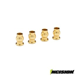 Boules de chapes amortisseurs VS4-10 Vanquish Incision IRC00218 (4)