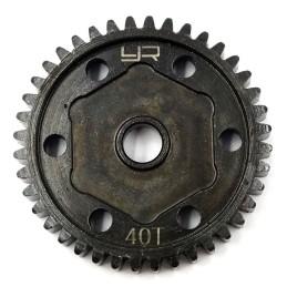 Couronne métal HD 40T pour Axial SCx10 III  Yeah Racing AXSC-034