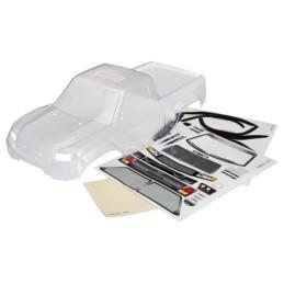 Carrosserie transparente Trexxas-4 Sport découpe kit led + autocollants - 8111R