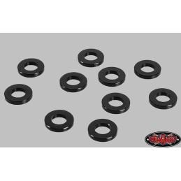 Entretoises rondelles 1mm noir M3 RC4WD Z-S0809