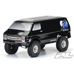 Carrosserie   '70S Rock Van  peinte noire  Pro-line 3552-00