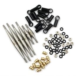 Kit liens métal  133.5MM  empattement  pour AXIAL SCX24 DEADBOLT AXSC-042