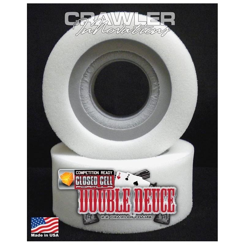 Mousse pour pneu 2.2 Double Deuce en 5.25 Standard inner/ soft outer