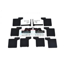 Kit bavettes de roues adaptables scale SCX10III Jeep  / TRX4 GPM TRX4ZSP72-BK