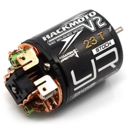 Moteur Hackmoto V2 23T a charbon 540 Yeah Racing