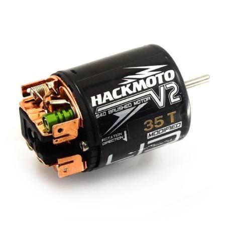 Moteur Hackmoto V2 35T a charbon 540 Yeah Racing