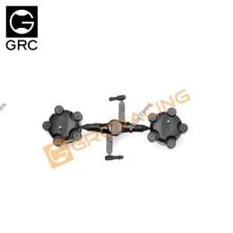 GRC -  Cabochon de roues hubs avec logo  land rover G130KC
